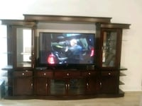 entertainment center that fits 65 to 70 n Camp Springs, 20746
