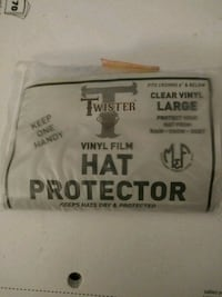 Twister vinyl film hat protector