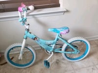 toddler's teal and white bicycle Severn, 21144