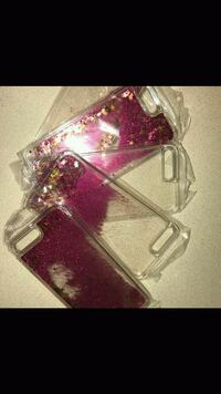 Hot pink and clear iPhone cases Peoria, 61614
