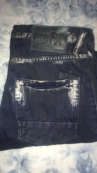 PRPS (Dark Blue/Gold) Jeans Newark, 07104