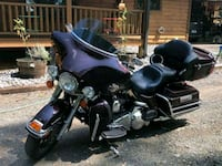 black and purple touring motorcycle Chantilly, 20152