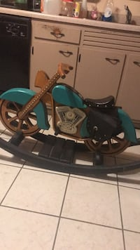 green and black leather horse saddle West Mifflin, 15122