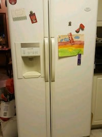 white side-by-side refrigerator with dispenser Markham, L3R 4T6