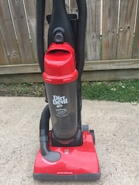 red and black Dirt Devil upright vacuum cleaner Houston, 77096