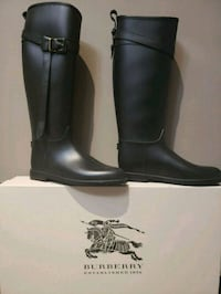 BURBERRY Belted Equestrian Rubber Roscot Rain Boot Toronto, M2L 1A8