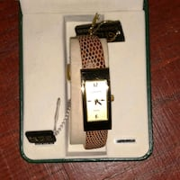 Cognac and cream colored watch Temple Hills, 20748