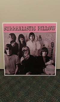 Surrealistic Pillow - Jefferson Airplane on vinyl