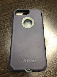 Navy Blue Otter Box Protective Cell Phone Case IPhone 8 Plus Austin, 78757