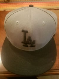 gray and black Dodgers fitted cap Los Angeles, 91342