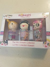 Miniature kokeshi collector perfumes NEW.  Whitby, L1N 8X2
