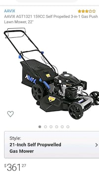 AAVIX LAWN MOWER BRAND NEW $175 THATS RIGHT $175 Cerritos, 90703