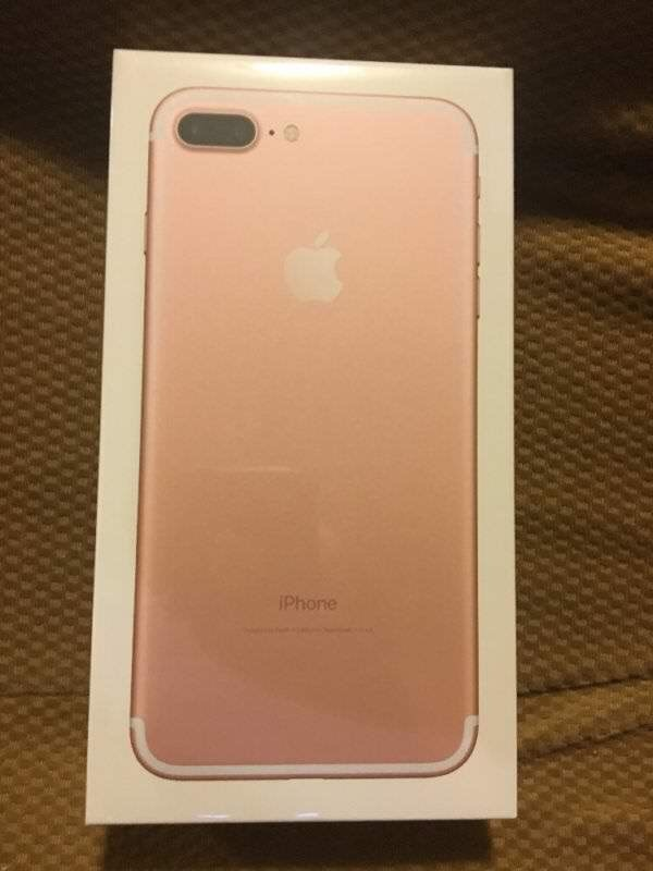Used Apple Iphone 7 Plus 256 Rose Gold Factory Unlocked Brand