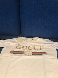 Gucci tee shirt deadstock classic logo with tags  Vaughan, L4J 3N3