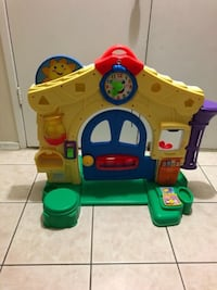 Fisher price baby learning toy working good