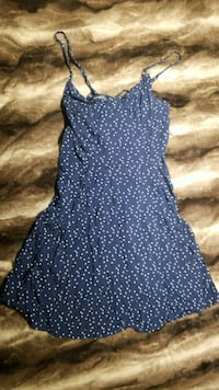 Print blue dress size S forever 21 Toronto, M9N 2M8