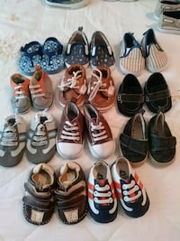 12 pairs of Baby shoes. Fort Stewart, 31315