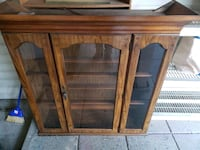 brown wooden cabinet Burnaby, V3N