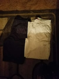Mens: 32×32 are the Pants and 34 is the shorts