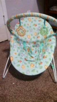 baby's white and green bouncer Macon, 31204