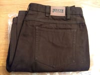 Brand new Duluth Trading Men's fire hose 5-pocket Baden, 15005