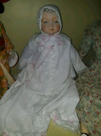 antique glass doll  Hoover