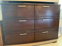 Pair of matching dressers. Ashley brand. Dovetail cedar drawers. **Set of 2** pick up only - Belmont Bay Woodbridge, 22191