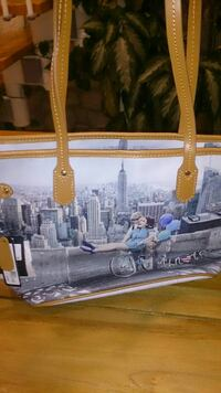 Tote bag con grafica Empire State Building