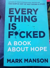 New book : everything is f*cked, a book about hope Surrey, V3S 1R8