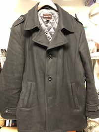Michael Kors black wool jacket/coat sz XL