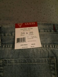 black Levi's denim bottoms Edmonton, T5G 1K1