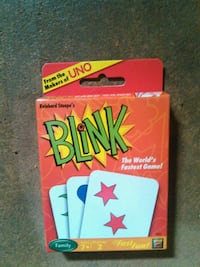 Blink card game - like UNO Bernards
