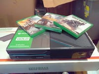 Xbox one terabyte with games added on the consul