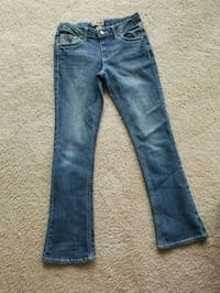 blue denim straight cut jeans Silver Spring, 20901