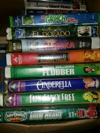 VHS Disney Movies Cypress, 77433