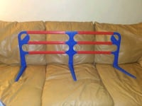 Plastic bed rail