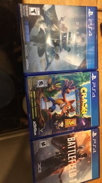 ps4  games all for 50$ Waterloo, N2L 3V5