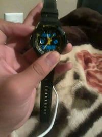 black and blue digital watch Omaha, 68102
