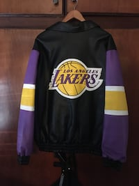 Lakers Leather Jacket Men XL 43 km