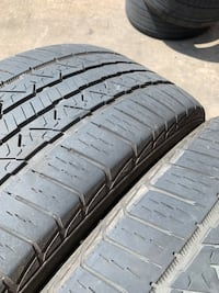 255/50/20 used set of tire