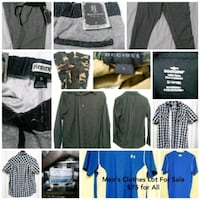 Mens Clothes Lot Linthicum Heights, 21090