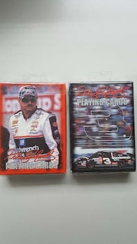 2 Decks 2000 Dale Earnhardt Playing Cards