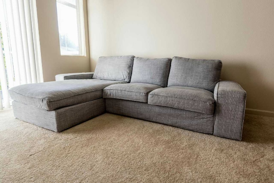 Used ikea kivik sofa with chaise lounge in mill creek for Sofa kivik 3 plazas