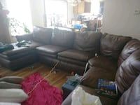 PU leather couch Warrensburg, 64093