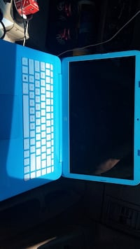 blue and white laptop computer Amarillo, 79107
