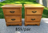 Pair of Nightstands *Delivery Available* Hamilton, L9H 5N7