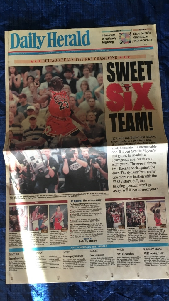 sweet six team daily herald newspaper, used for sale  Schaumburg