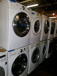 LG front load washer and dryer set working perfect Baltimore, 21223