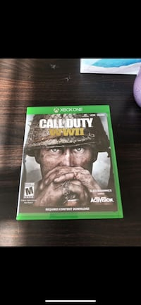 Call of Duty 4 Xbox One game case 2354 mi