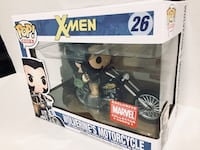 Funko Pop Rides - X-Men Wolverine's Motorcycle (Collector Corps Exclusive) Brampton, L7A
